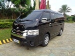Picture Grandia Hiace GL Black Van for Rent with...