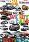 Picture We Buy Cars Toyota Honda Mitsubishi Isuzu...