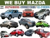 Picture We Buy Mazda Cars Pick-Up AUV SUV