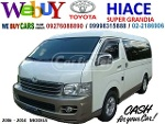 Picture We Buy Toyota Hiace Super Grandia New Look Body