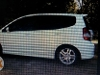 Picture 2010 honda fit white boo