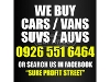 Picture We buy cars vans suvs (pampanga and other areas)