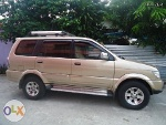 Picture Isuzu Sportivo SUV Model 2006 Color Gold