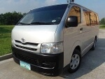 Picture Toyota model: Hiace commuter, year: 2008