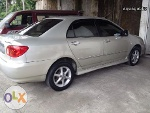 Picture Toyota altis 1.6 top of the line