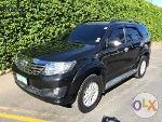 Picture 2012 Toyota Fortuner G Diesel MATIC