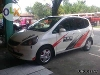 Picture Honda Fit White With Tv