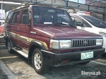 Picture 1996 Toyota Tamaraw FX Manual Maroon AUV