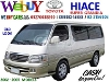 Picture Toyota Hiace GL diesel Old Look Body