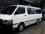 Picture Toyota Hiace COMMUTER van local manual 18...