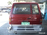 Picture 1998 Toyota Tamaraw FX Manual Red AUV