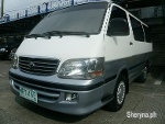 Picture 2000 Toyota HiAce Manual White And Gray...