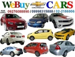 Picture Buying Chevrolet cars Contact: 09276088890 /...