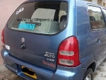 Picture Car Suzuki Alto VXR Eminent Blue Color Sell