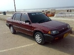 Picture Honda civic gl modal 85 v. Nice condition...