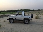 Picture Jeep Suzuki Sj410 Petrol And CNG in Pakistan