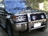 Picture Mitsubishi pajero intercooler turbo 1993 black...