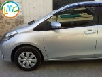 Picture Toyota Vitz Model 2011 silver colour fresh import:
