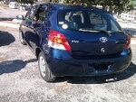 Picture Toyota vitz 2008 blue color for sale