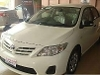 Picture Toyota Corolla XLI 2012 white color for sale in...