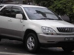 Picture Used Toyota Harrier White
