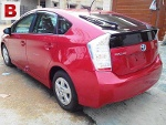 Picture Toyota Prius, Red, G Touring Edition with...