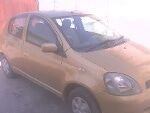 Picture Toyota Vitz 1999 golden color For Sale