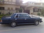 Picture Toyota Crown 1982 blue color for sale
