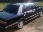 Picture TOYOTA Crown 1987 black color for sale