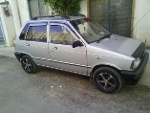 Picture Suzuki Mehran 2009 silver color for sale