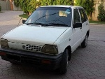 Picture Suzuki Mehran white VX with AC/ CNG — Lahore
