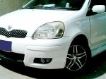 Picture Toyota vitz 2004 white color for sale