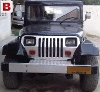 Picture Jeep CJ converted in to Wrangler on sales —...