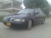 Picture Nissan sunny EX saloon 1998 black color for sale