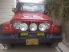 Picture Wrangler jeep red colour