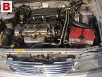 Picture Nissan Sunny 98 1.4 Twin Cam Engine Totally...