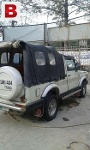 Picture Suzuki long chassis soft top jeep — Lahore