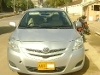 Picture Toyota Belta Model 2006 silver color for sale