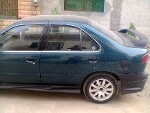Picture Sports nissan Sunny 1998 green color for sale