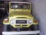 Picture Toyota Land Cruiser 1982 JEEP yellow color for...