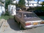 Picture Datsun 120y car 1981 golden color for sale