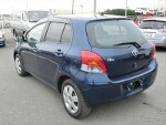 Picture 2013 Toyota Vitz Automatic Strong Blue Petrol
