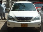 Picture Toyota Harrier - 3.0L (3000 cc) White