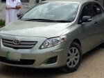 Picture Toyota Corolla XLI, Model 2010 green color for...